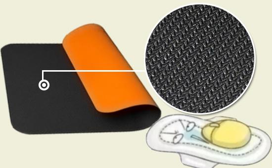 乳胶再生胶鼠标垫配方