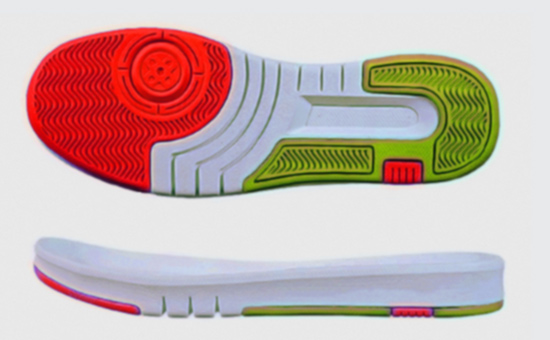 The ideal material for the production of sports soles white latex reclaimed rubber
