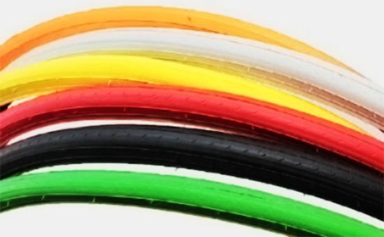 白乳胶再生胶生产彩色自行车外胎
