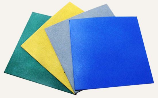 选择乳胶再生胶生产橡胶地板的理由