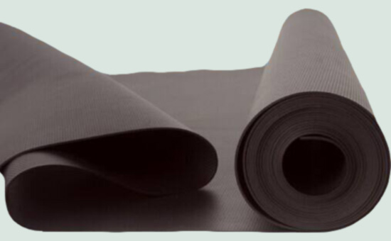 Tire reclaimed rubber production waterproofing membrane