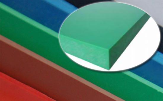 7#落地天然胶生产彩色胶板