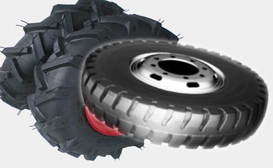轮胎再生胶生产农用车轮胎与载重轮胎的区别