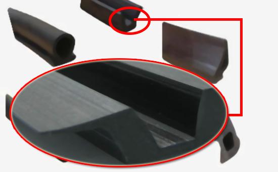 EPDM reclaimed rubber door and window seals