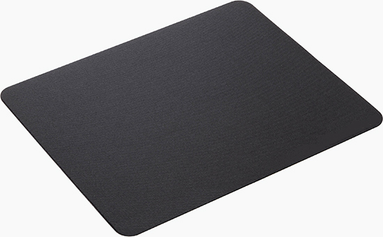Black latex reclaimed rubber production foam mouse pad