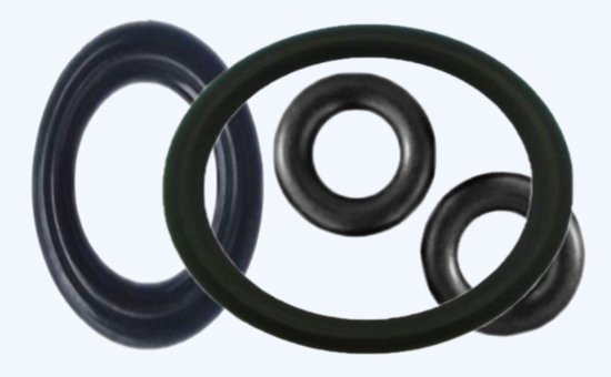 Nitrile reclaimed rubber production O-ring