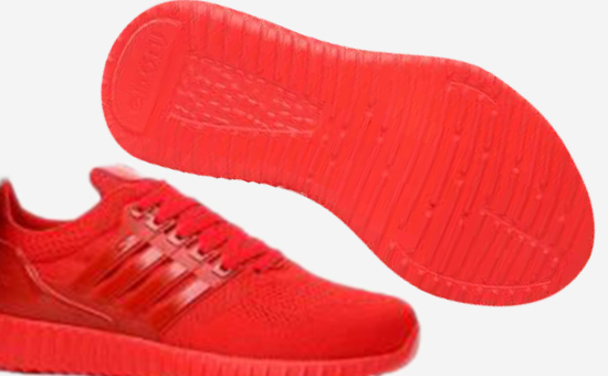 Red Latex reclaimed rubber solve red rubber sole color Matching Problem