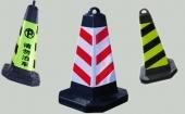 废轮胎胶粉生产反光橡胶路锥