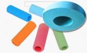 丁晴再生胶生产彩色发泡套管