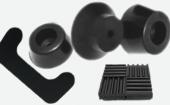 丁基再生胶生产减震橡胶垫