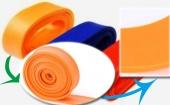 纯乳胶再生胶生产彩色拉力带
