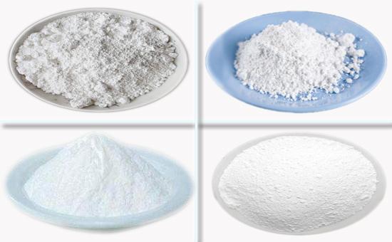 四种白色填充剂在丁基再生胶制品中的作用
