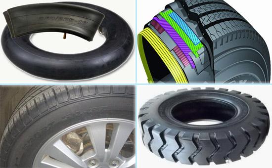 丁基再生胶在四类车胎中的应用