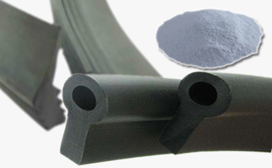 The white carbon black in the nitrile seal can be added