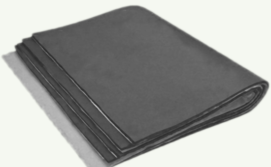 Butyl reclaimed rubber in industrial rubber products