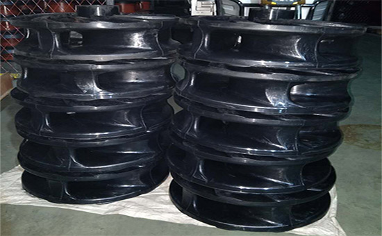 EPDM recycled rubber production rubber impeller
