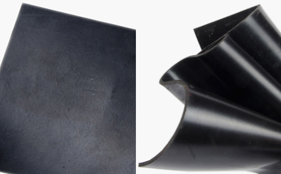 High proportion of oil resistant rubber sheet with recycled rubber formula
