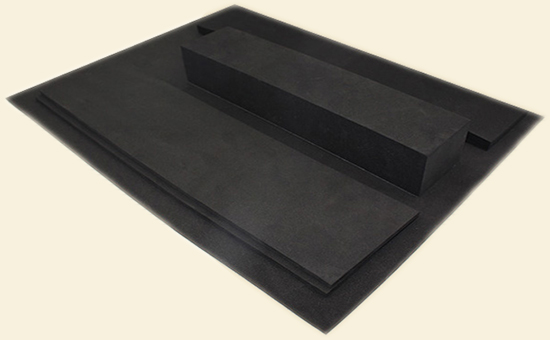 EPDM sponge board raw materials and uses
