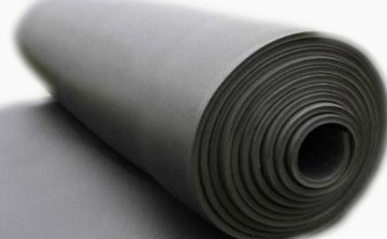 Application of butyl chloride reclaimed rubber in rubber sun visor