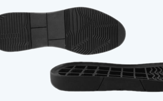 Application of rubber powder in rubber sole