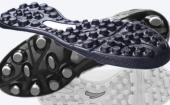 足球鞋大底掺用胎面再生胶配方