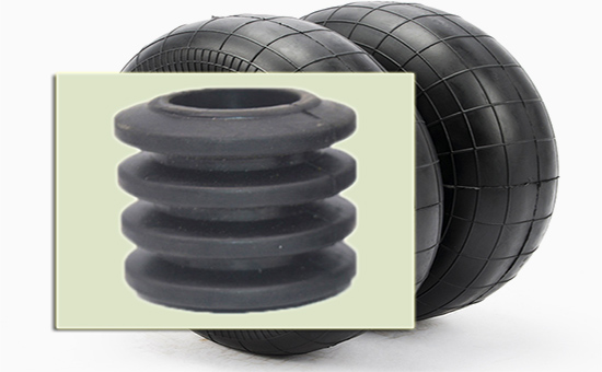Application of tire rubber powder in rubber air spring