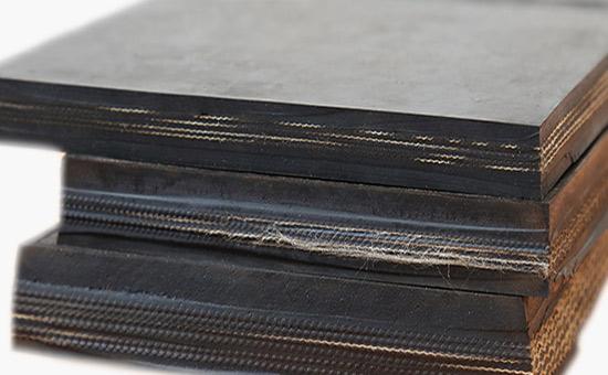 Butyl heat-resistant conveyor belt rubber formula
