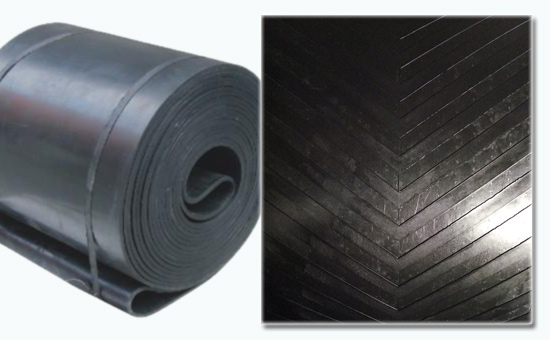 Acid and alkali conveyor belt mixed with butyl reclaimed rubber