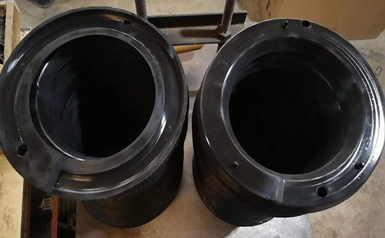Reduce the cost of high quality rubber spring pads - reclaimed rubber