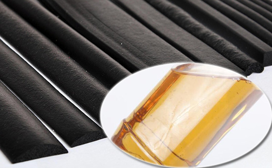 The role of paraffin oil in EPDM seals
