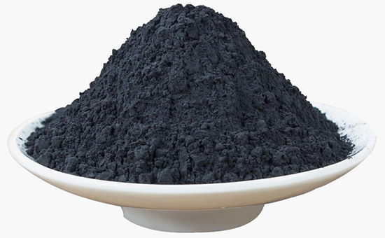 Carbon black affects the electrical conductivity of recycled rubber products