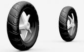不同再生胶掺用量的摩托车胎面胶参考配方