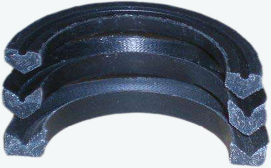 The optimum amount of reclaimed rubber in nitrile sealing products