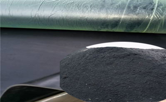 A small amount of tire rubber powder can be mixed in acid and alkali resistant plywood