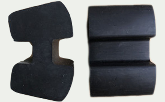 Applicable formula of water hammer pump buffer block mixed with tread regenerated rubber