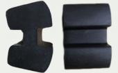 水锤泵缓冲块掺用胎面再生胶适用配方