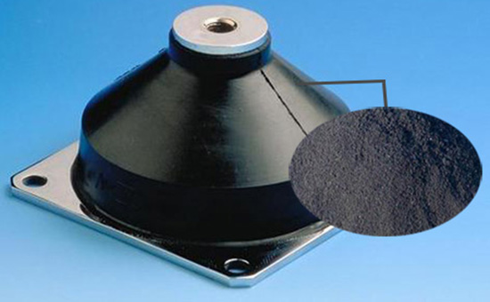 Filling function and skill of vulcanized rubber powder in rubber products