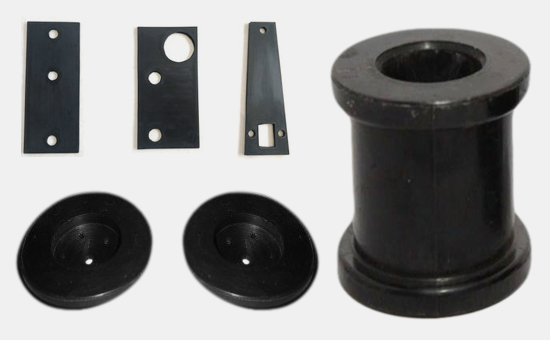 General model rubber products from natural rubber / recycled rubber