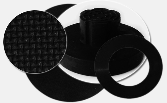 Heat-resistant gaskets use chlorinated butyl recycled rubber to reduce costs