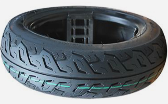 Application points of chlorobutyl in inner liner of tire