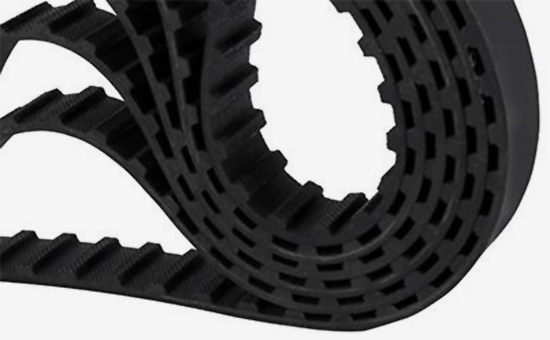 Natural rubber / latex recycled and combined production drive belt formula design 2