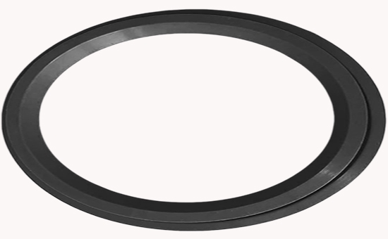 EPDM reclaimed rubber is used to reduce the cost of pipeline interface seals