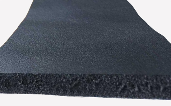 Techniques for reducing cost by using butyl reclaimed rubber in sound insulation board