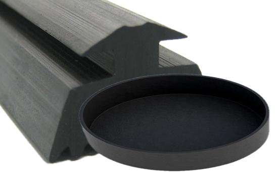 Formula design of natural rubber/ethylene propylene rubber blend