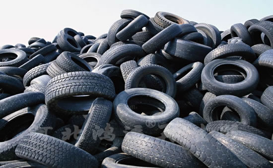 Recycle of waste tire