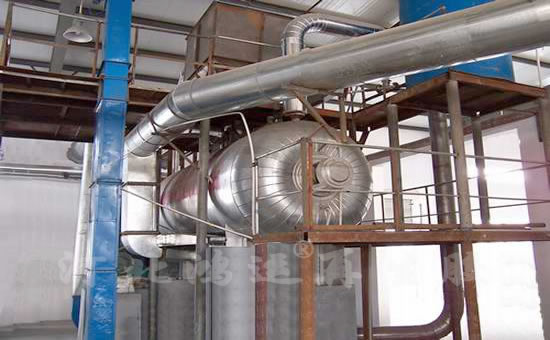 Regeneration glue waste gas treatment device