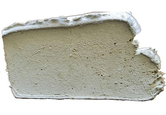 白色乳胶再生胶切面