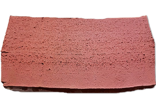 红色乳胶再生胶切面