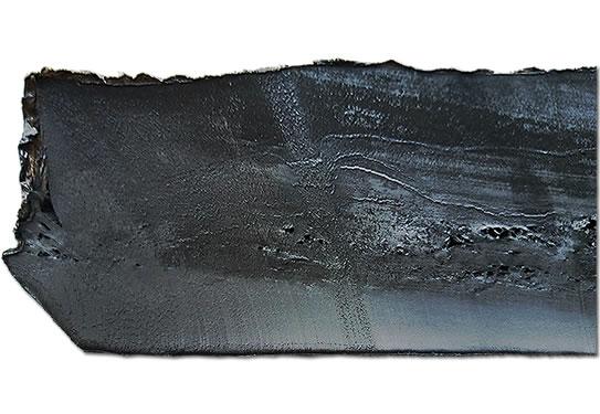 环保胎顶再生胶切面