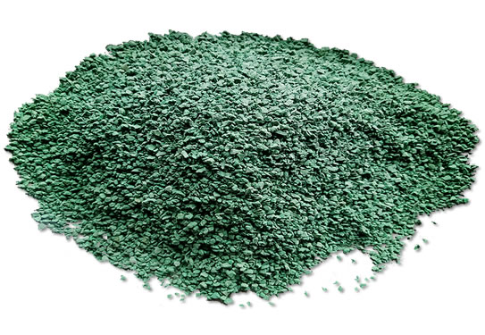 绿色三元乙丙颗粒